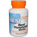 Doctor's Best, Best, фосфатидилсерин, 100 мг, 60 капсул