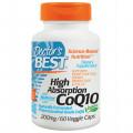 Коэнзим Q10, Doctor's Best, 200 мг, 60 жидких капсул