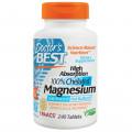 Магний глицинат, Doctor's Best, 240 таблеток