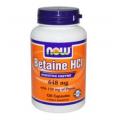 Now Foods, Бетаин HCL, 648 mg, 120 капсул