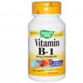 Тиамин, Nature's Way,100 мг, 100 капсул