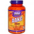 AAKG (L-аргинин-альфа-кетоглутарат), Now Foods, 180