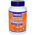 Аскорбилпальмитат, Now Foods, 500 мг, 100 кап.