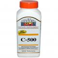 Витамин С, 21st Century Health Care, 500, 250 таблеток