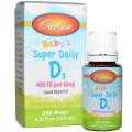 Витамин Д3, Carlson Labs, Для детей, (10,3 мл)