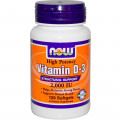 Витамин Д3, Now Foods, 2000 МЕ, 120 капсул