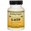 Healthy Origins, 5-HTP ( триптофан ), 50 mg, 60  капс
