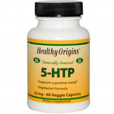 5-HTP, 50 mg, 60 капс ( Healthy Origins )