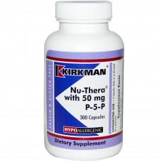 Комплекс витаминов Nu-Thera with 50 mg P-5-P, Kirkman Labs, 300 капсул