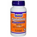 Пантетин, Now Foods, 300 мг, 60 капсул