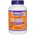 Витамин С-500, Now Foods, ягодный вкус, 100 таб.