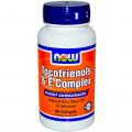 Витамин Е + селен, Now Foods, 60 капсул