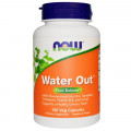 Диуретик натуральный мочегонный  Water Out 100 капс (Now Foods)