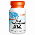 Doctor's Best, Витамины B12 (Б-12) , 1500 mcg, 60 Veggie Caps