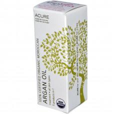 Acure Organics,  востанавливающее марокканское аргановое масло  для всех типов кожи, (30 мл)