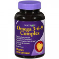Natrol Omega / Омега  3-6-9 Complex, Lemon Flavor