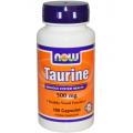 Таурин аминокислота  (Taurine) 500 мг, 100 капс