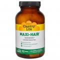 Country Life, Gluten Free, Maxi-Hair /витамины для волос