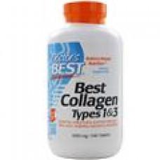 Doctor's Best, коллаген 1 и 3 типа, 1000 мг, 180 таблеток