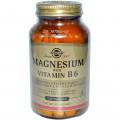 Витамин В6 + Магний, Solgar, 250 таблеток