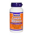 Поддержка нормальной функции гормонов у женщин Now Foods, Female Balance, 90 Capsules