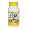 Формула для облегчения симптомов при ПМС Nature's Way, PMS, With Vitamin B6 & 5-HTP, 100 Capsules