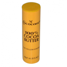 Стик с маслом какао Cococare, 100% Cocoa Butter, The Yellow Stick, 1 oz (28 g))