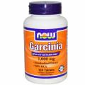 Гарциния, Now Foods, 1,000 мг, 120 таблеток
