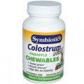 Колострум Молозиво Symbiotics , Жевательные ананасовые таблетки Colostrum Plus, 120 Жевательных Таблеток