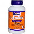 L- пролин, Now Foods, 500мг, 120 капсул