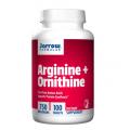 Аргинин + Орнитин Борьба с высоким давлением / здоровье сердца, печени и почек 750 мг, 100 табл.