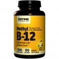 Jarrow Formulas, Метил  B-12 / Б-12, Lemon Flavor, 1000 mcg, 100 таблеток
