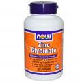 Глицинат цинка, Now Foods, 120 капсул