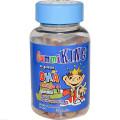 Рыбий жир для детей, Gummi King, Омега-3, 60шт