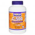Витамин С, Now Foods, C-500 Complex, 250 Tablets