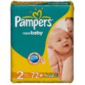 Подгузники Pampers New Baby Mini 2 (3-6 кг) 72шт