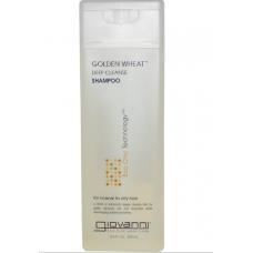 Шампунь для интенсивного очищения волос с пшеницей, Giovanni  (250 мл)