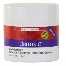 Крем от морщин с ретинилпальмитат (витамин А),Derma E  (113 г)