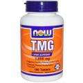 Триметилглицин, 1 000 мг, 100 таблеток
