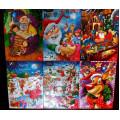 Адвент - кадендарь (Рождественский календарь) из 24 молочных шоколадных фигурок