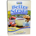Стевия (вкус ванили), BetterStevia, Now Foods, 75 пакетов, 1 г