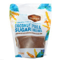 Кокосовый сахар, Coconut Sugar, Madhava Natural Sweeteners, 454 г