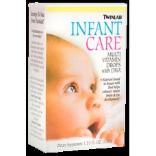 Витаминно-минеральный комплекс Twinlab Multi Vitamin Drops With DHA, Infant Care