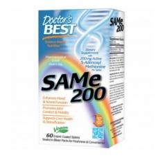 S-Аденозилметионин 200, Doctor's Best, 60 табл.